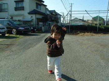 ワンコの次は天と散歩.jpg